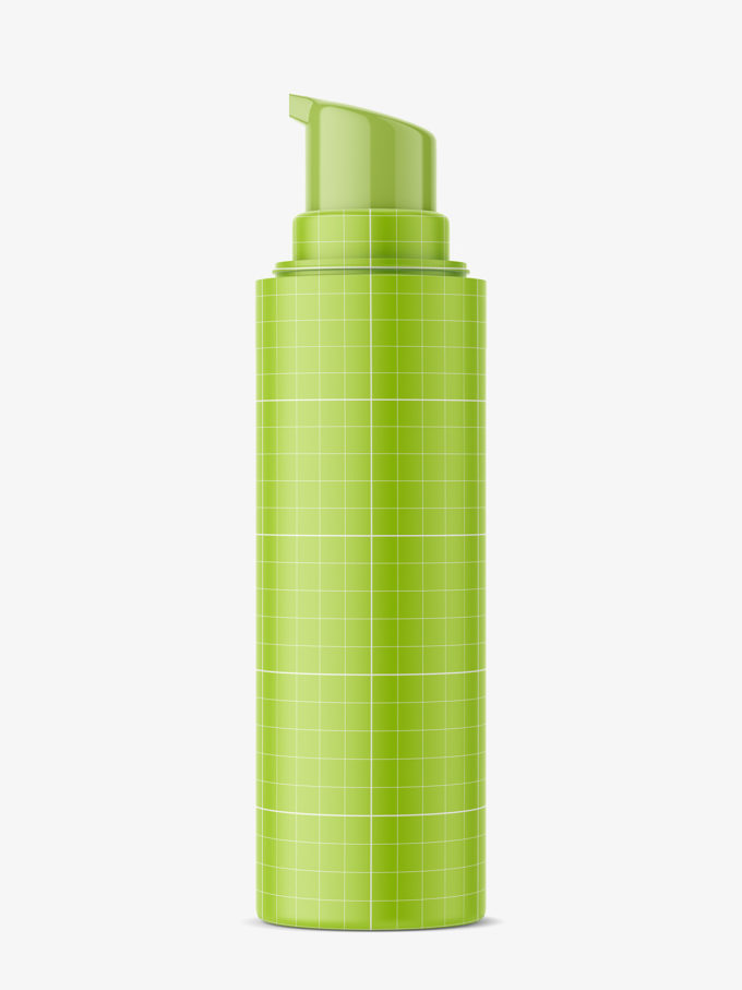 airless bottle mockup