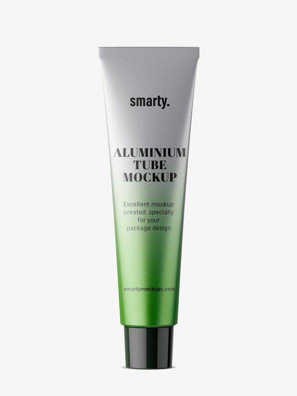 aluminium tube mockup
