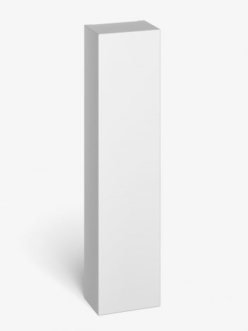 vertical box mockup