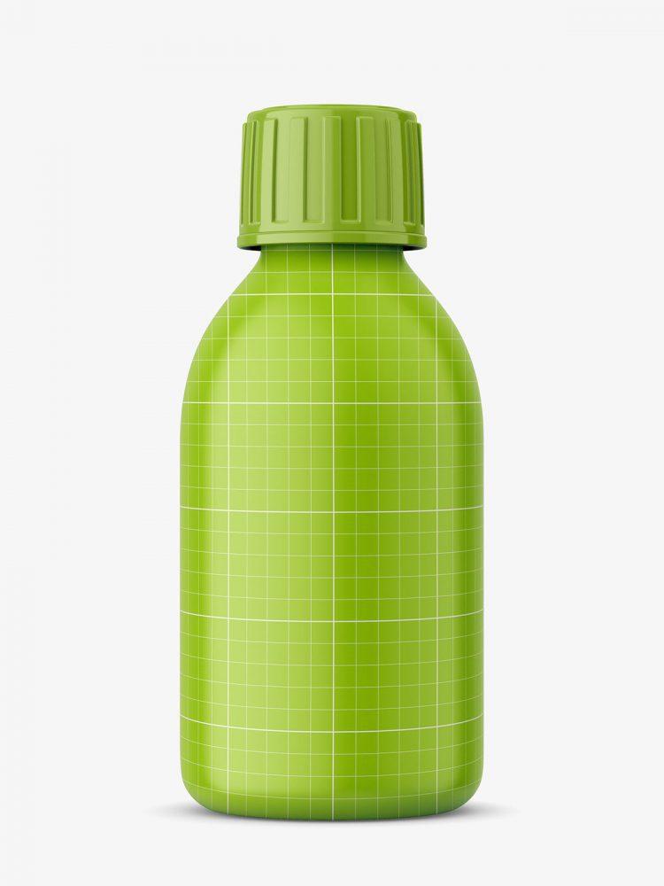 Pharmacy bottle mockup