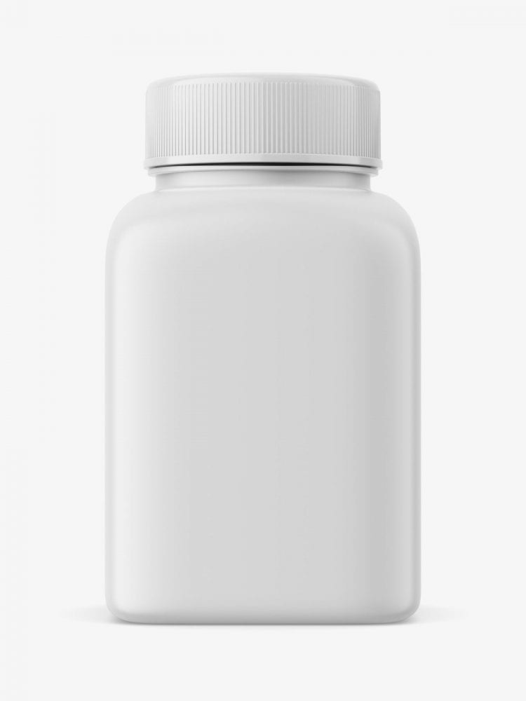 Pharmacy bottle mockup
