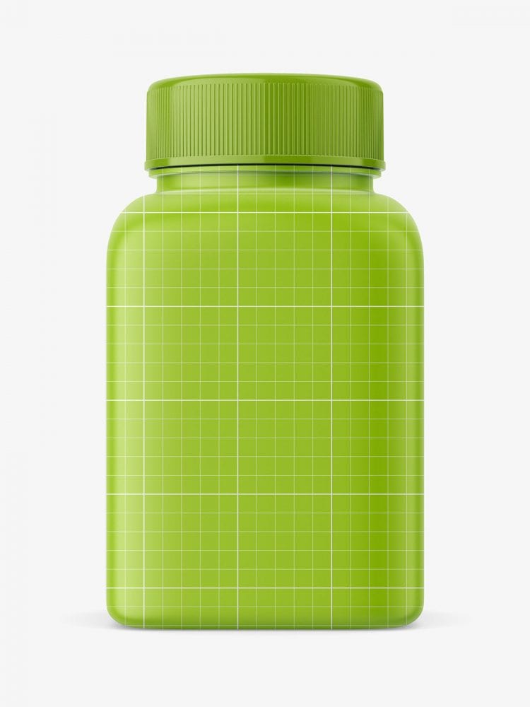 Pharmacy bottle mockupPharmacy bottle mockup