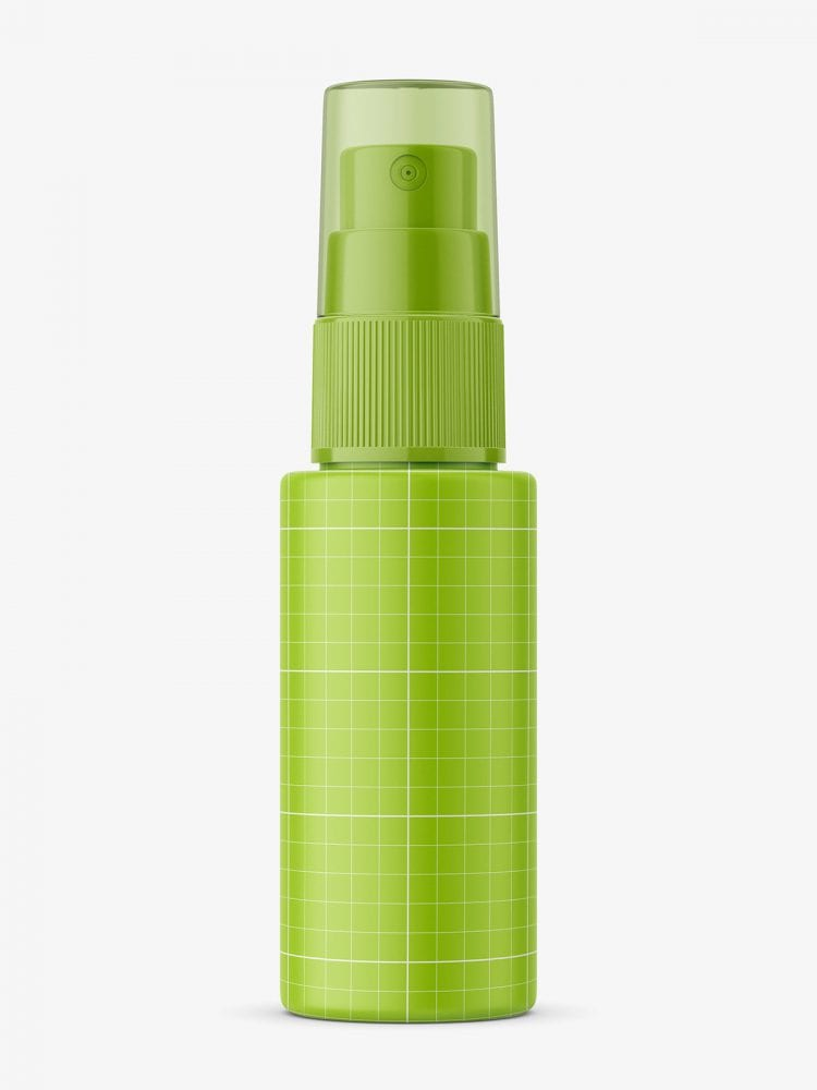 Mist spray bottle mockup
