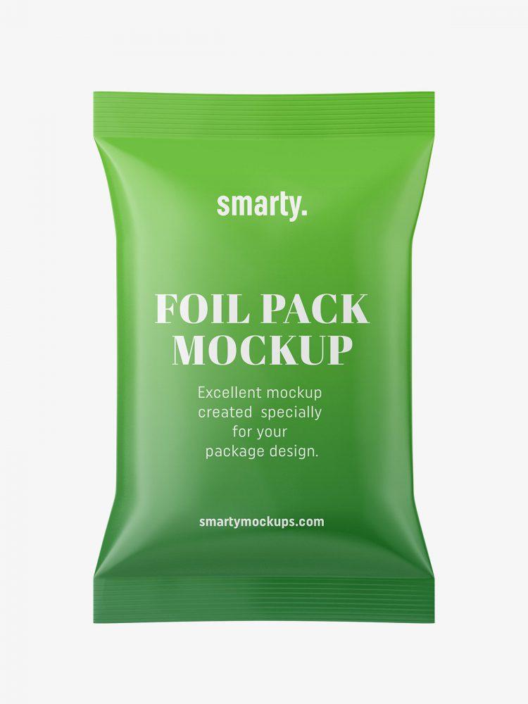 Foil pack mockup