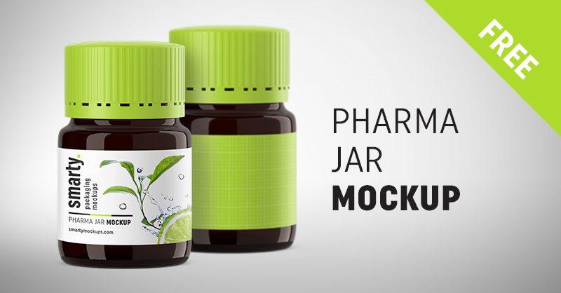 Pharmacy Jar Mockup Smarty Mockups