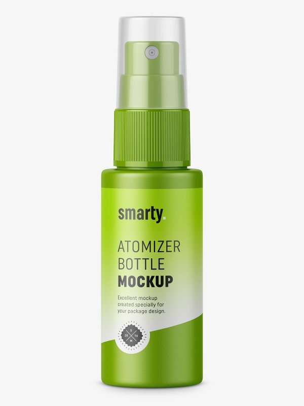 Mist spray bottle mockup / 30 ml
