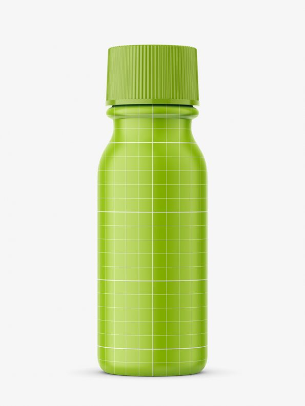 Pharmacy bottle phial mockup / Cobalt / 15 ml