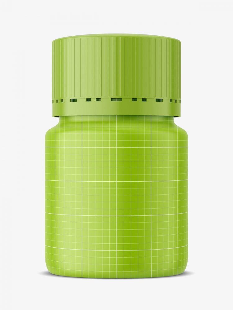Pharmacy jar mockup