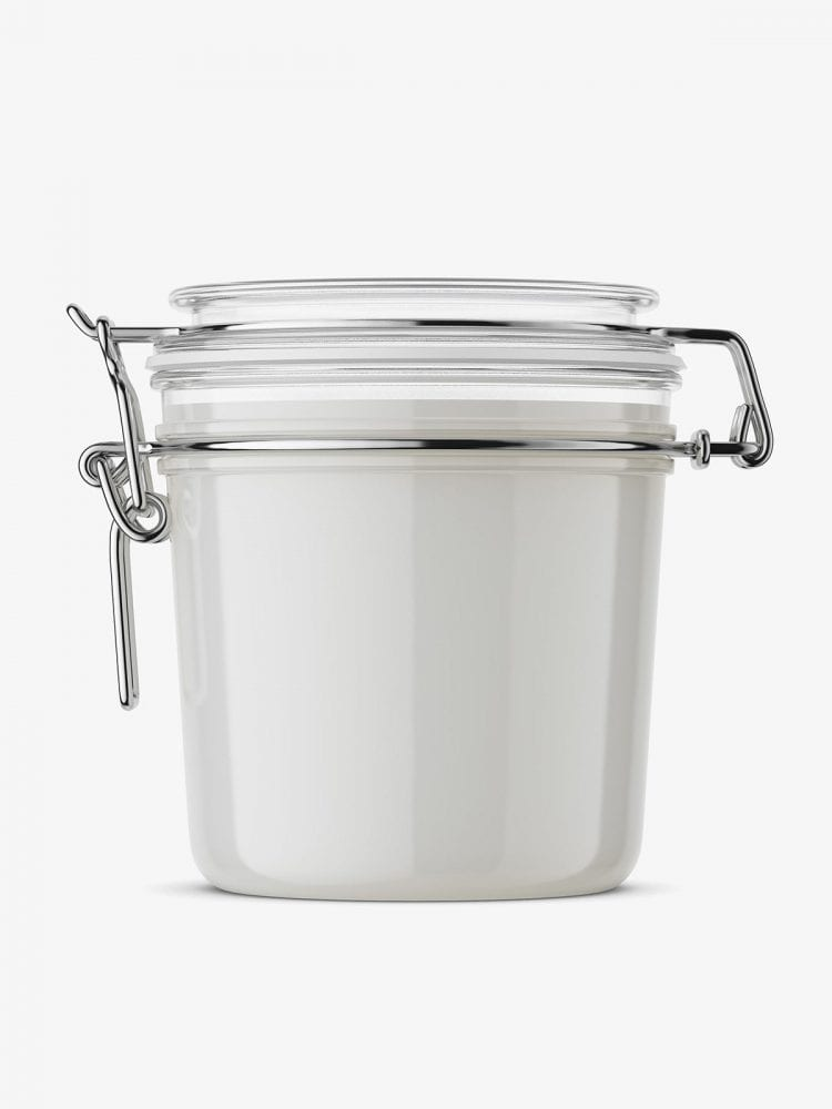 Weck jar mockup