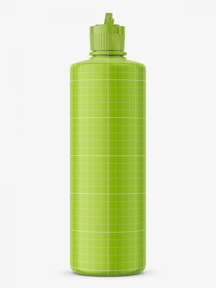 Cylinder bottle mockup