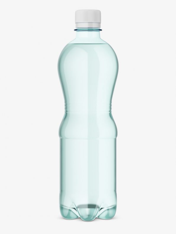 plastic bottle water mockup