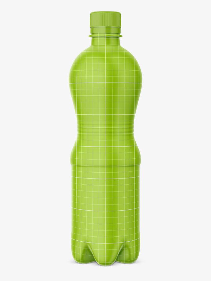 plastic bottle water mockup
