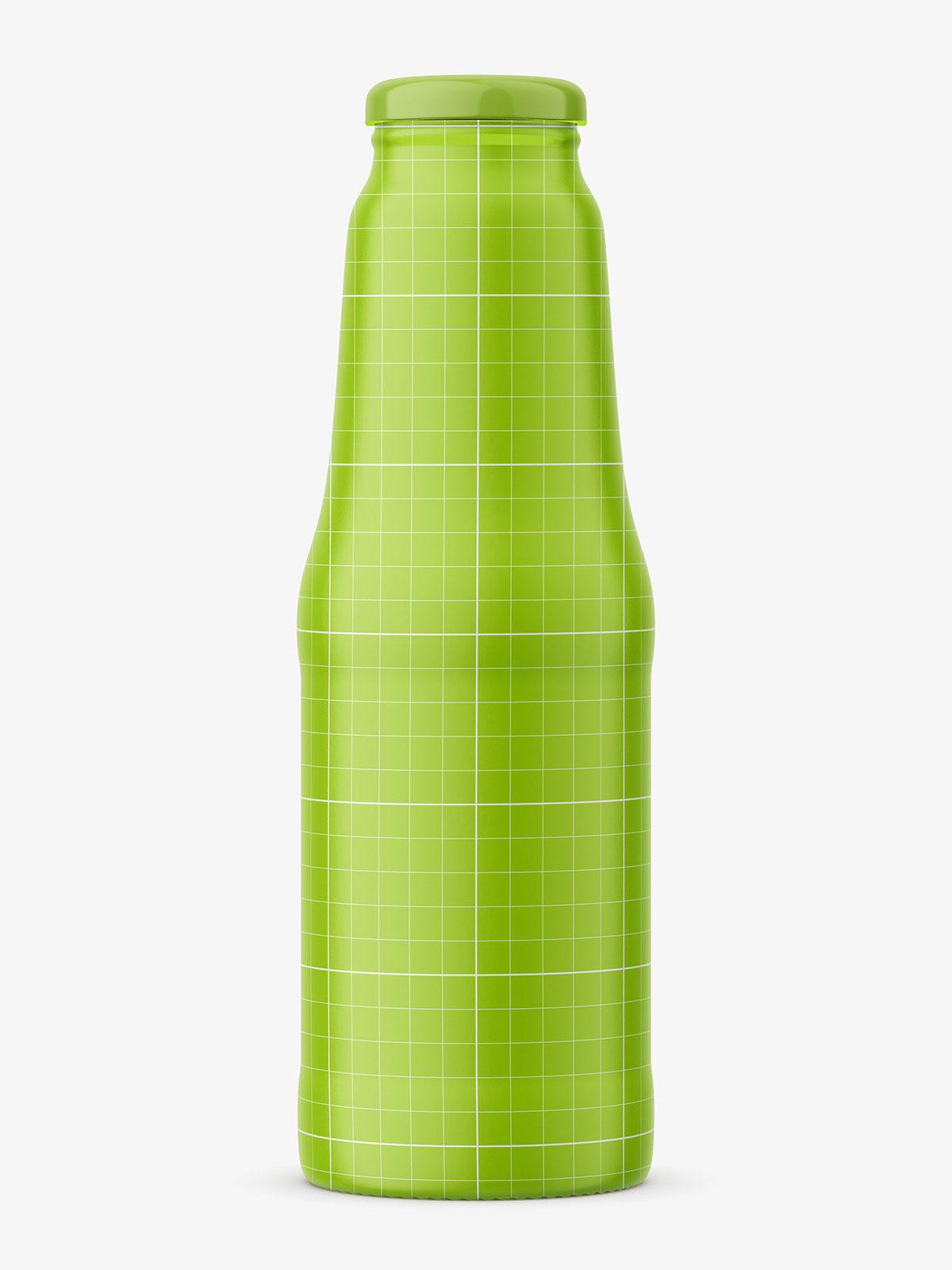 glass juice bottle mockup smarty mockups