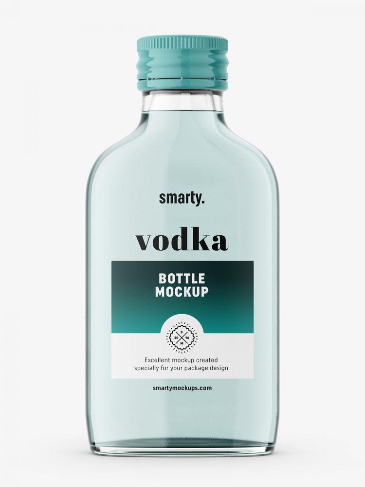 Small vodka mockup