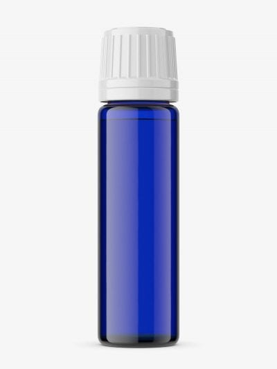 Amber bottle mockup / 10ml