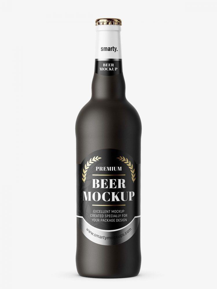 Beer mockup / matte