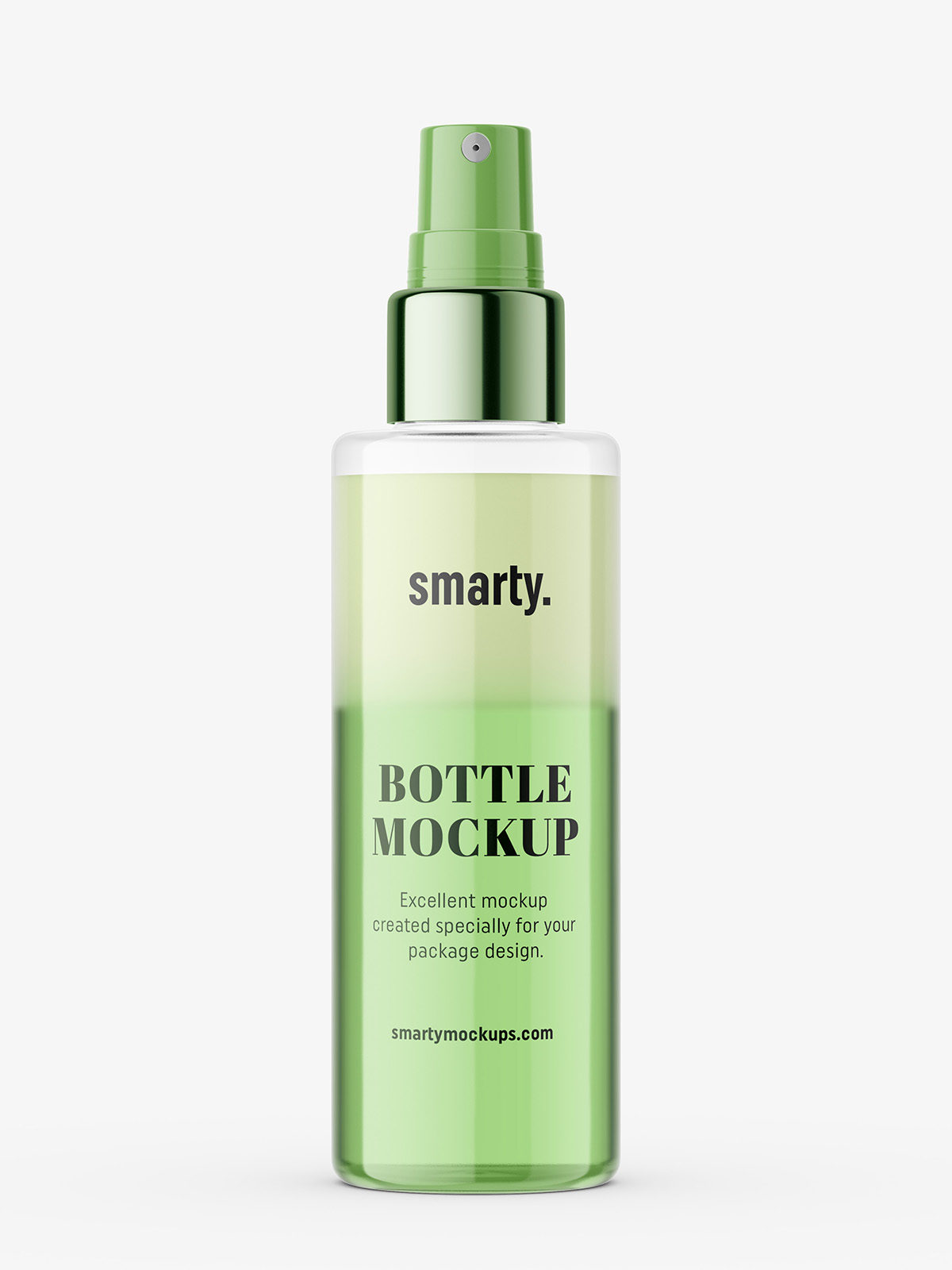 Two Phase Conditioner Bottle Mockup Smarty Mockups