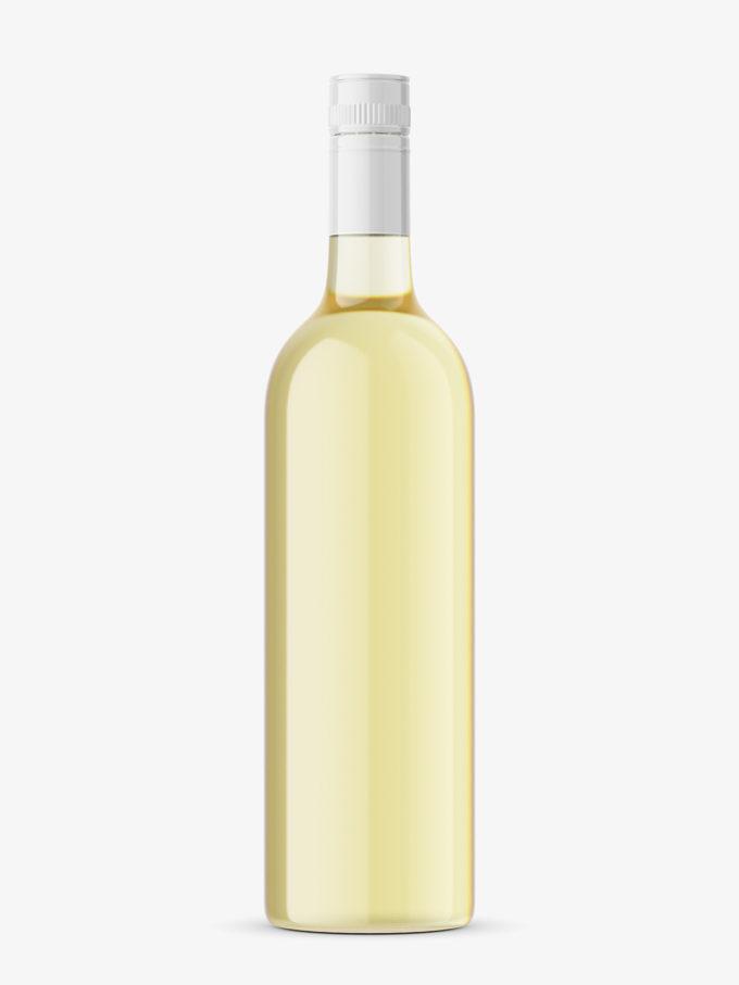 White wine mockup