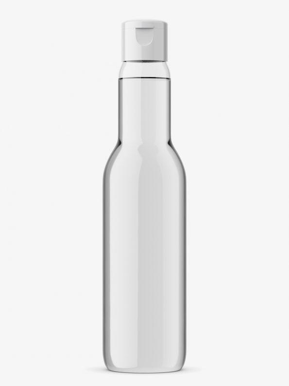 Univeral bottle mockup / transparent