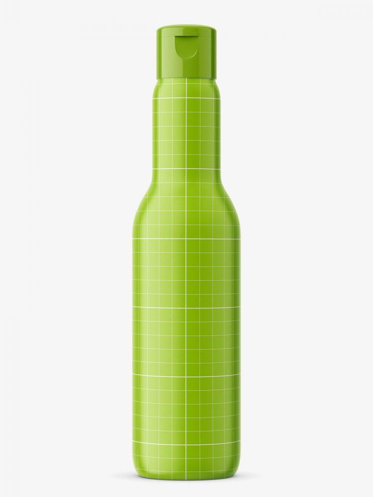 Univeral bottle mockup / cobalt