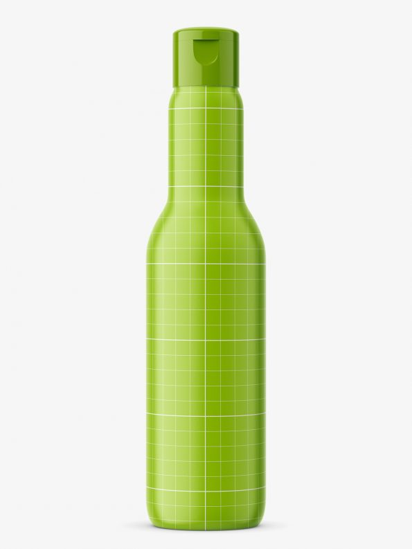 Univeral bottle mockup / transparent