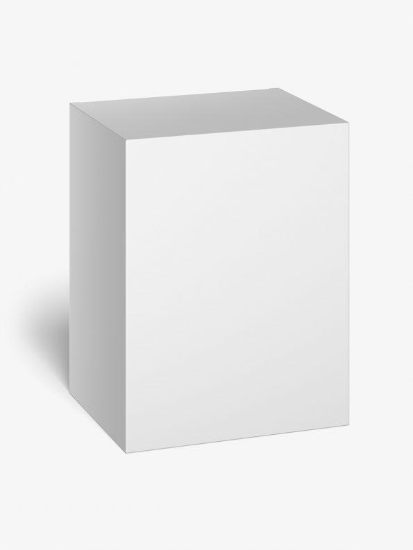 Box mockup / 105x135x85