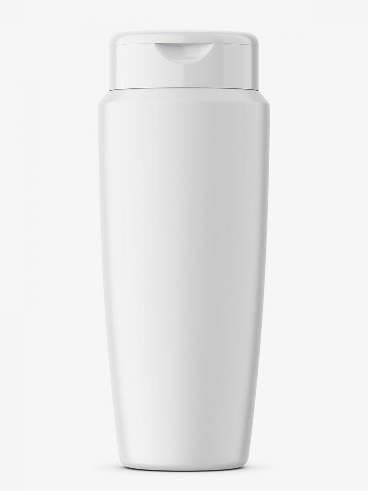 Conditioner bottle mockup / matt