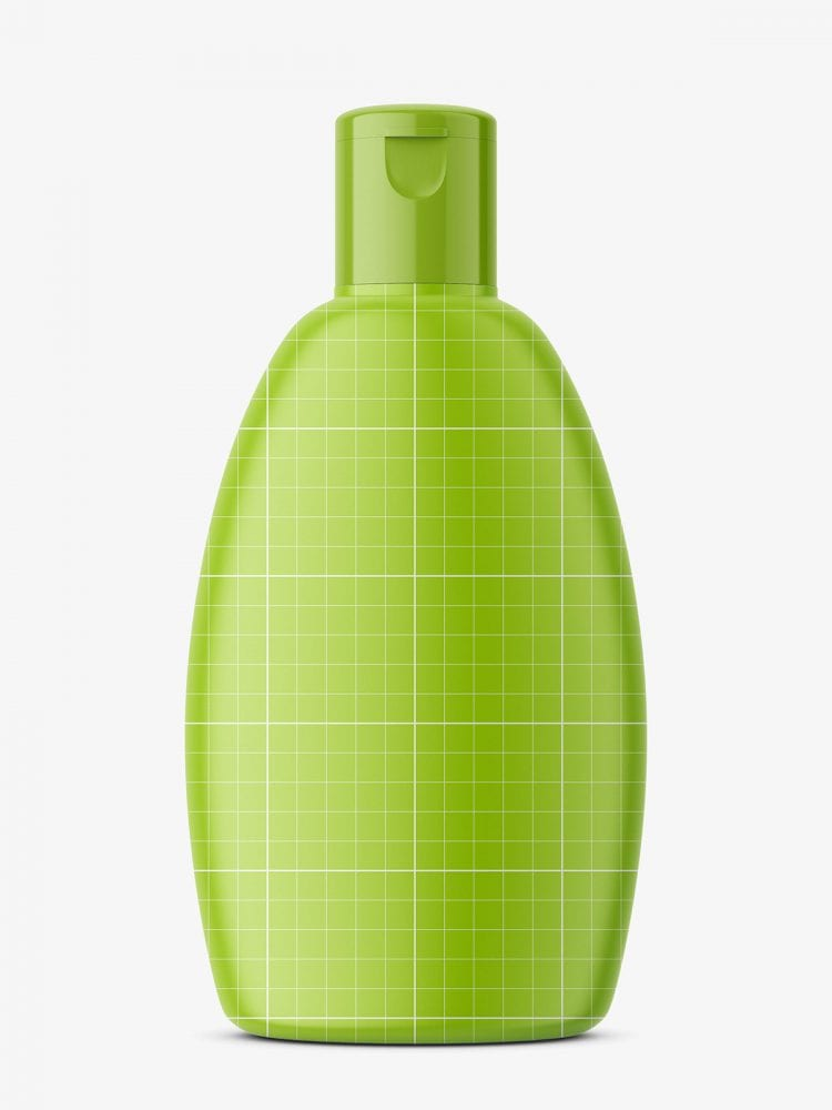 Shampoo bottle mockupShampoo bottle mockup