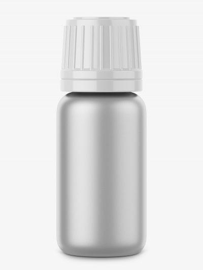 Metal bottle mockup
