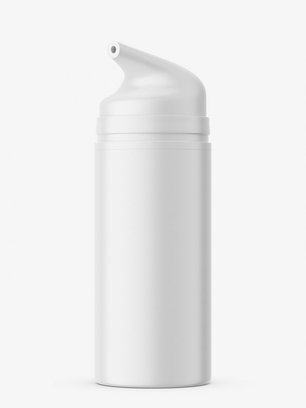 Airless bottle mockup / matt