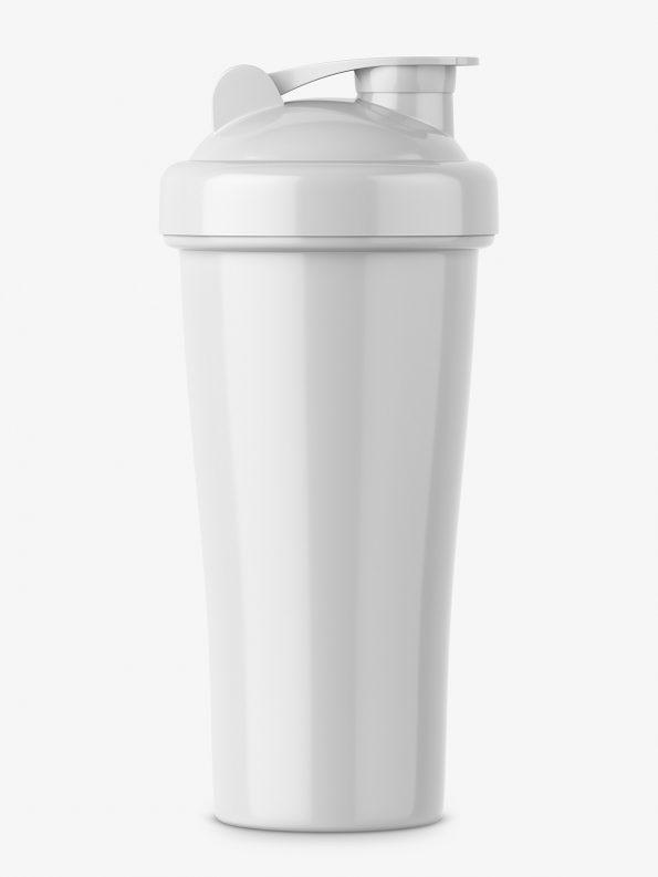 Glossy shaker mockup