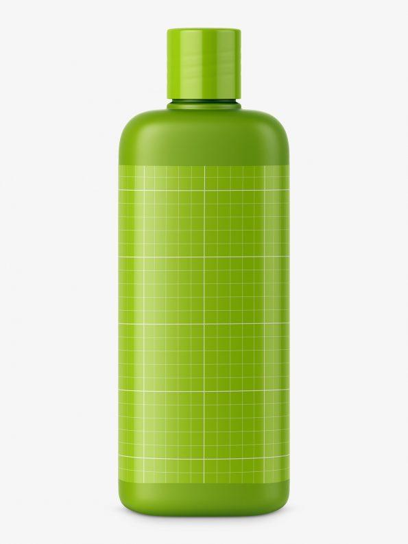 Matt cosmetic bottle mockup