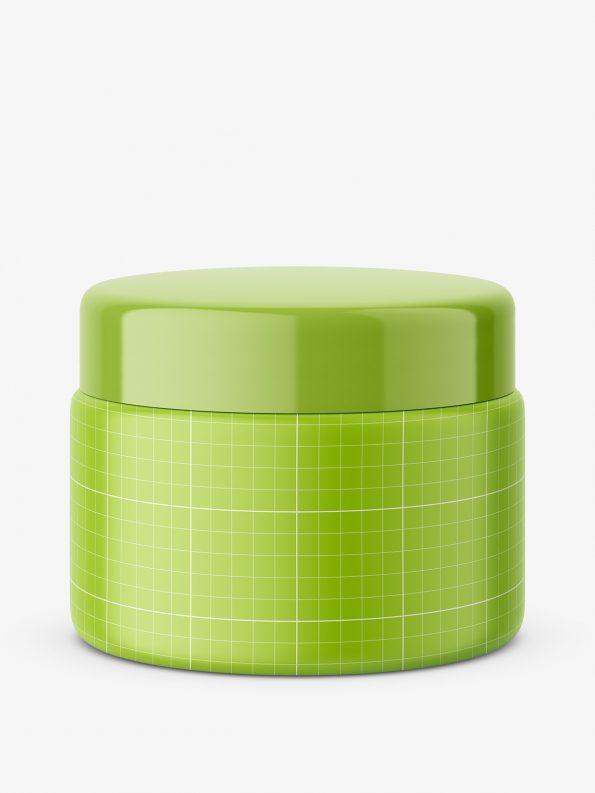 Universal plastic jar / matt