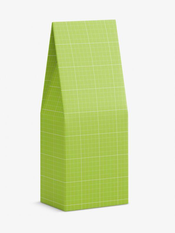 Tapering box mockup / 80x185x55