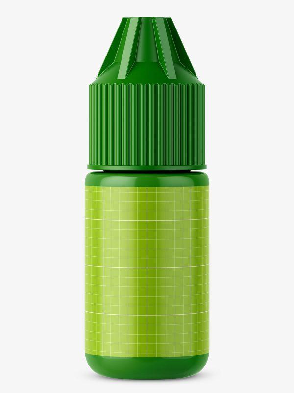 Dropper bottle mockup / glossy