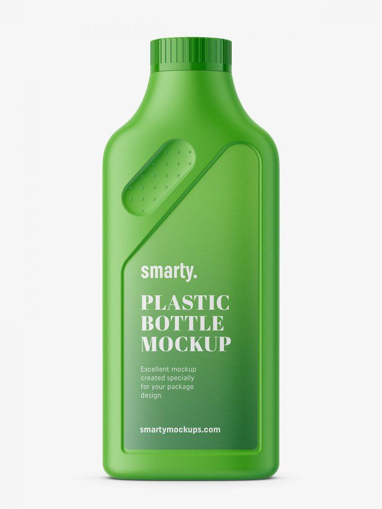 Household bottle mockup