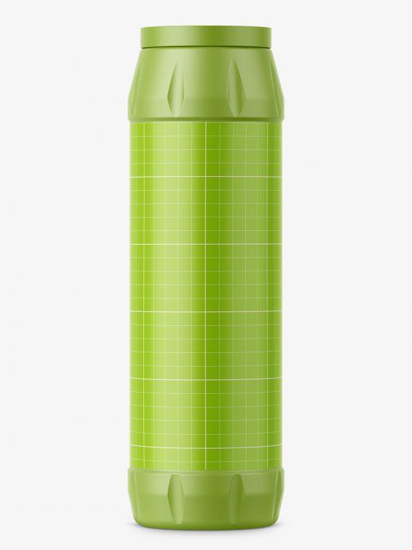 Powder bottle mockup