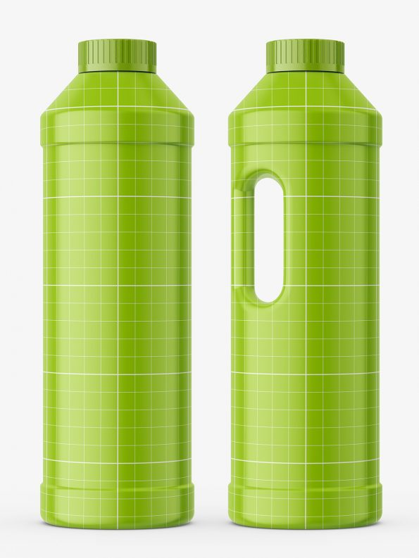 Safe bottle mockup