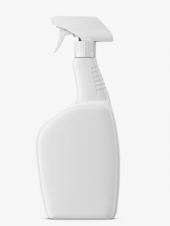 Spray bottle mockup
