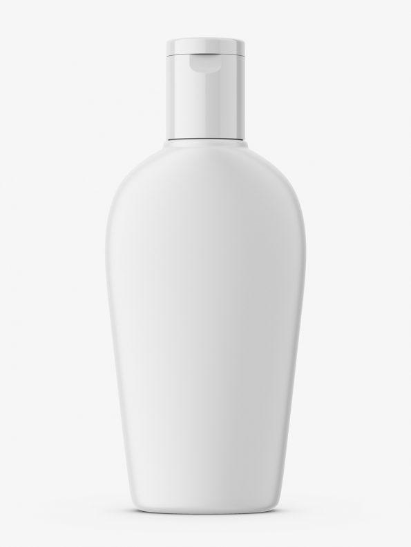 Matt balsam bottle mockup