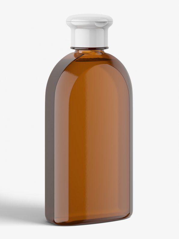Amber herbal bottle mockup