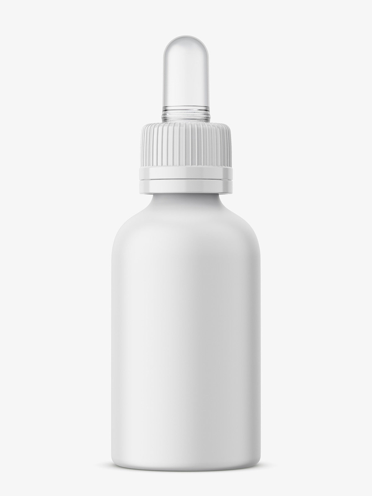 Plastic Matt Dropper Bottle Mockup Smarty Mockups