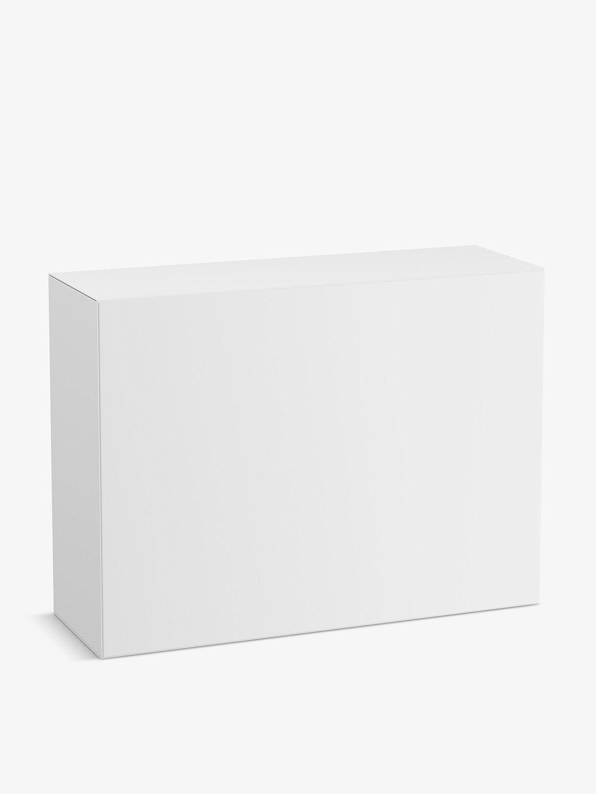 Cardboard box mockup / 200x150x70