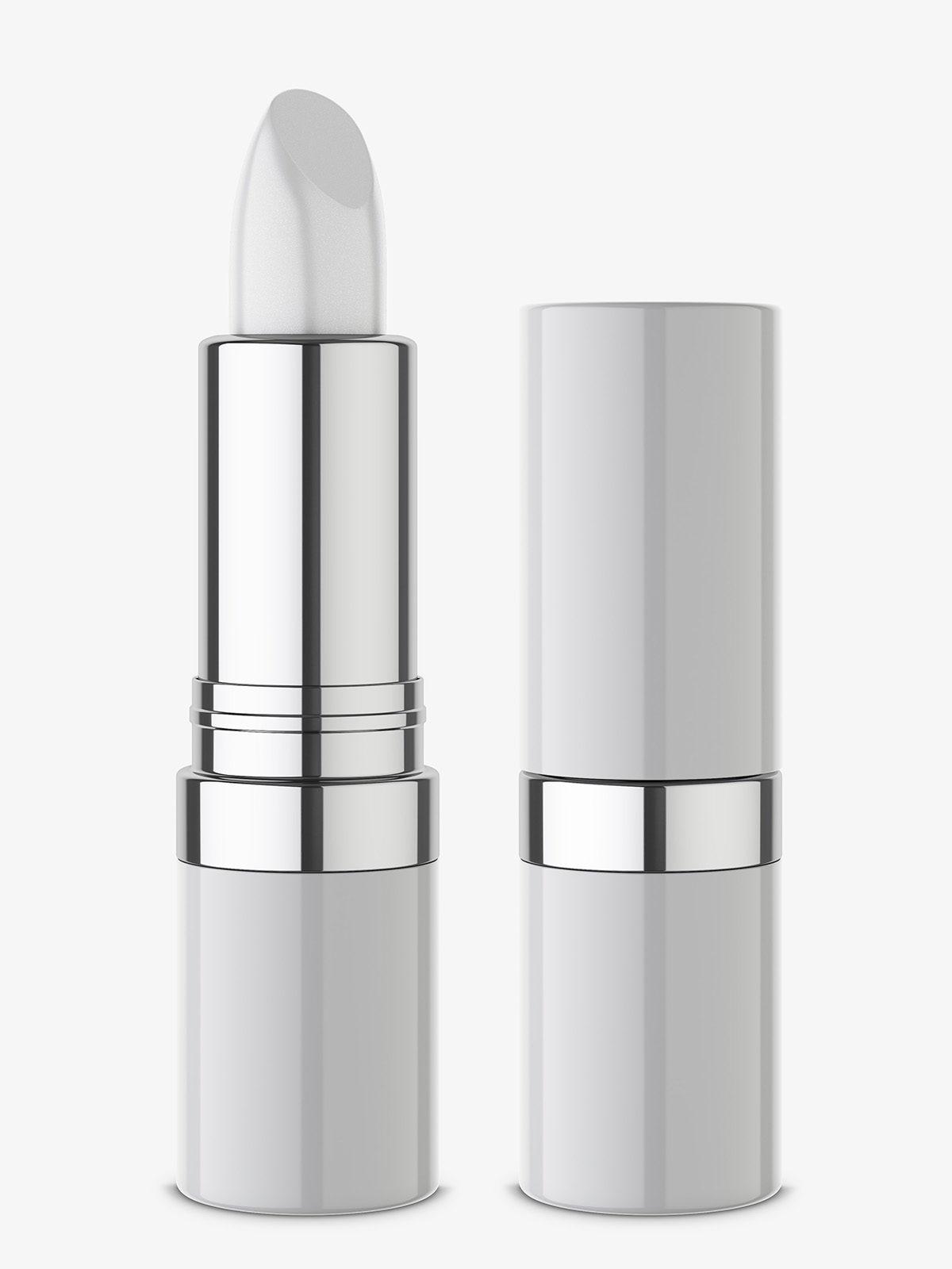 Glossy lipstick mockup