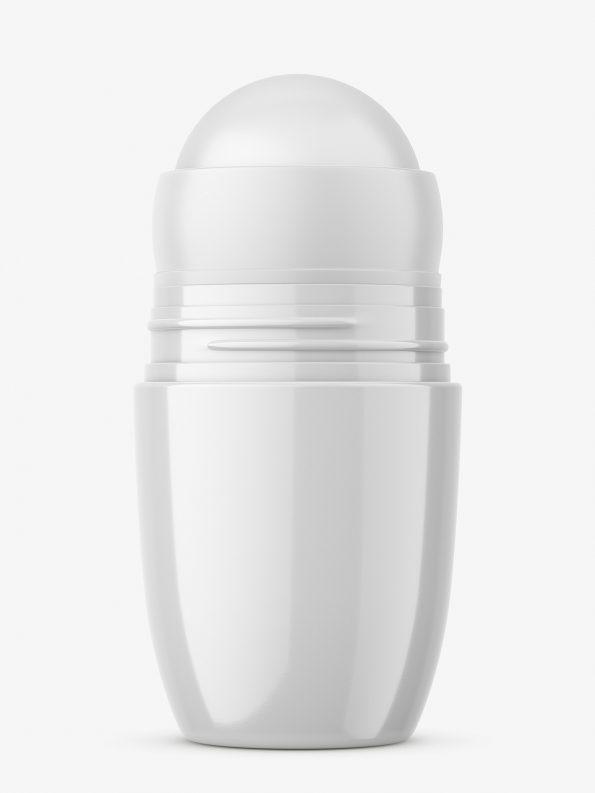 Plastic roll-on mockup / glossy