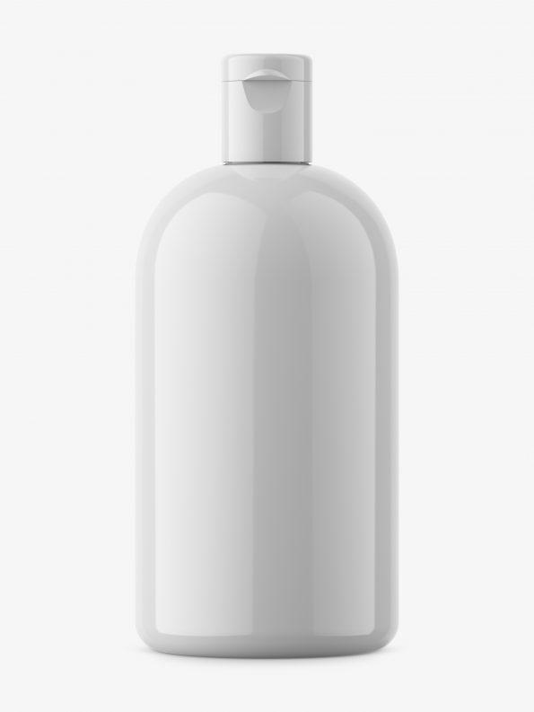 Boston bottle mockup / glossy