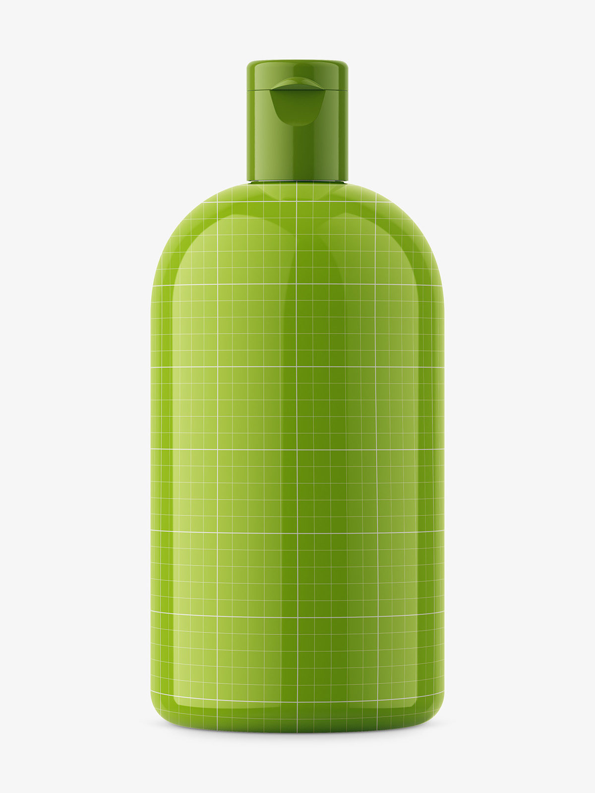 Boston bottle mockup / glossy
