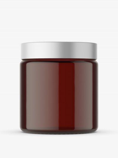 Amber Jar mockup