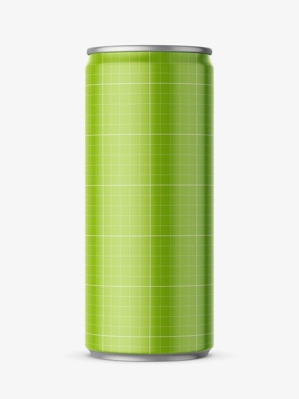 Energy drink mockup
