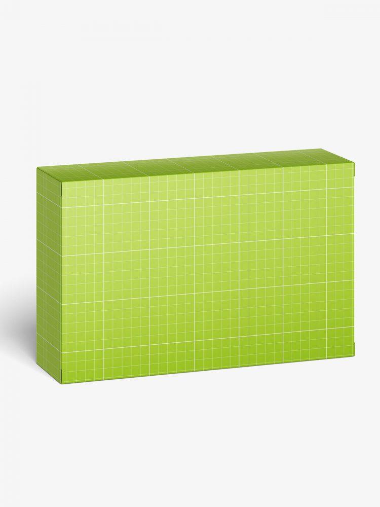 Packaging box mockup / 110x70x30